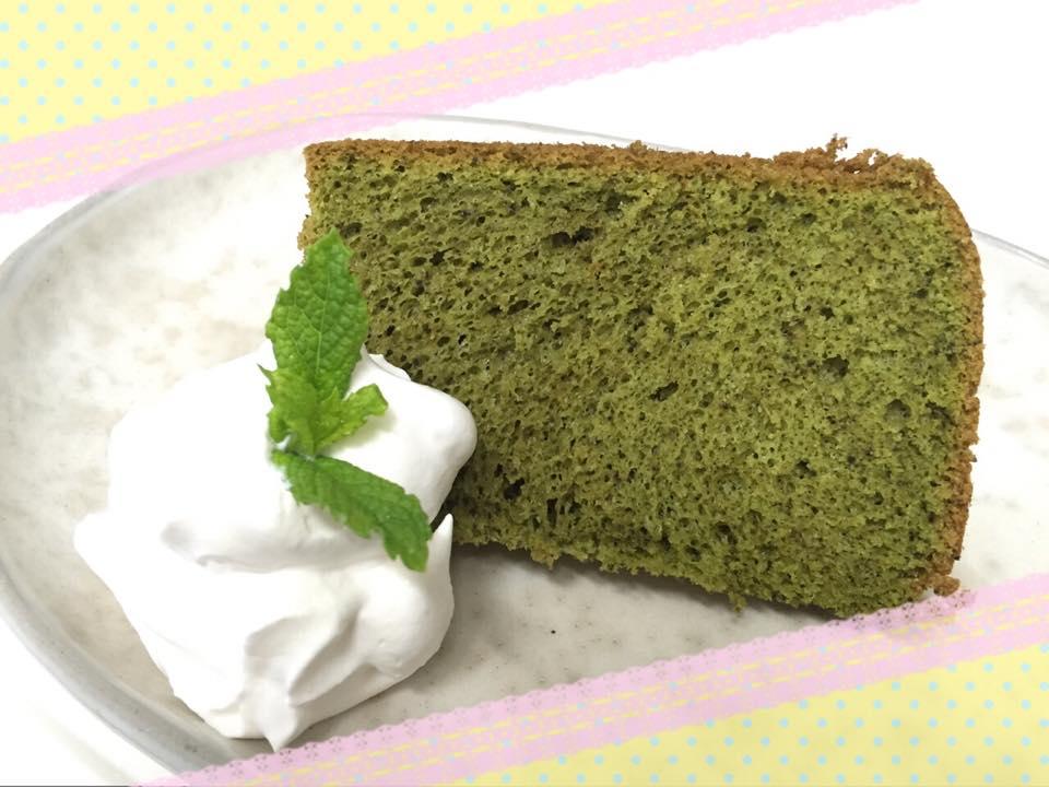 美味しい抹茶シフォンケーキの作り方